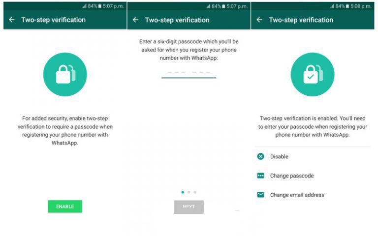WhatsApp İki Aşamalı Doğrulama Sistemi İle Daha Güvenli Hale Geldi