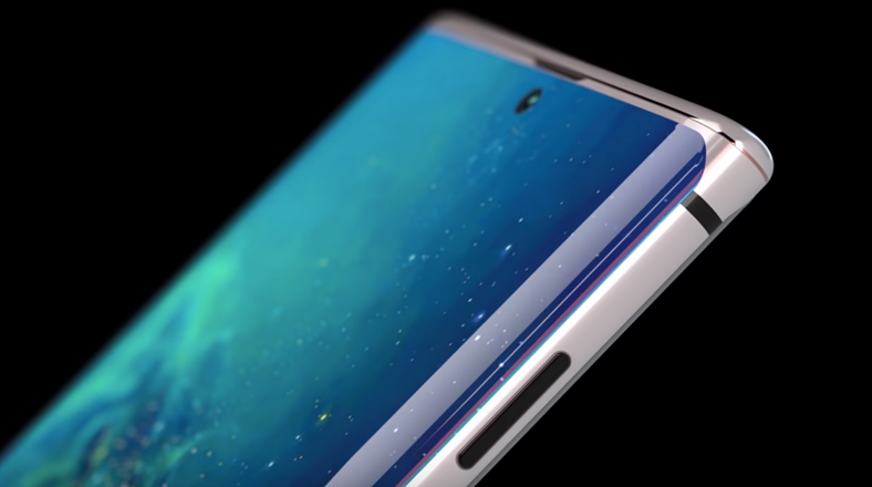 The first concept design video of the Samsung Galaxy Note 10