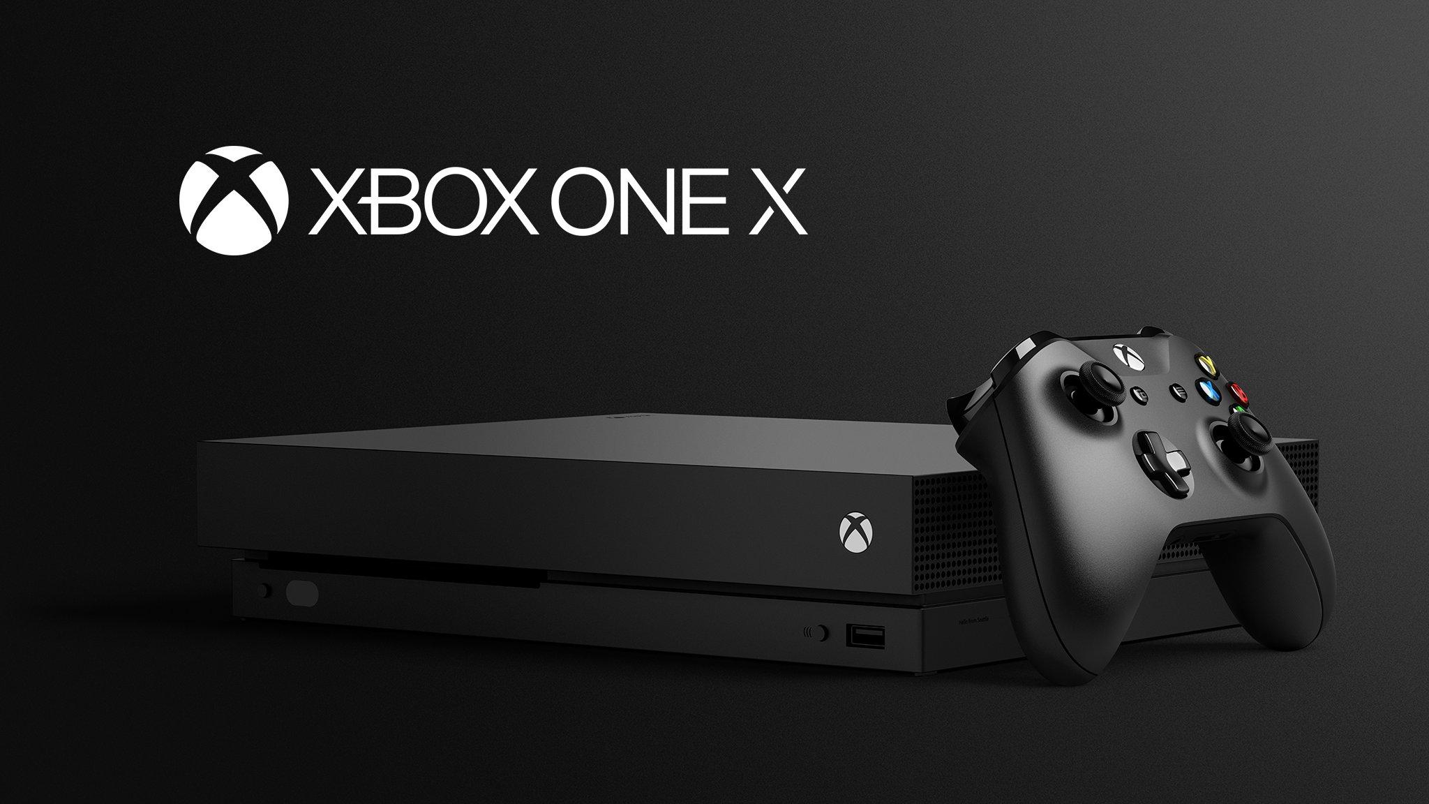 Xbox One X ile ilgili görsel sonucu