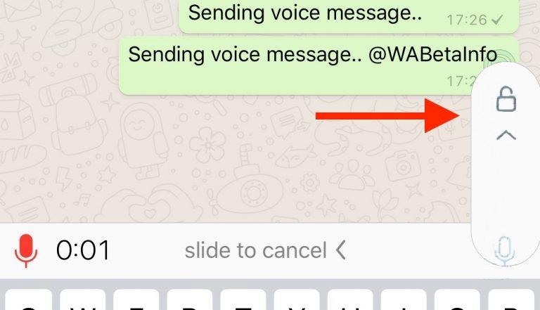 whatsapp sohbet kilitleme