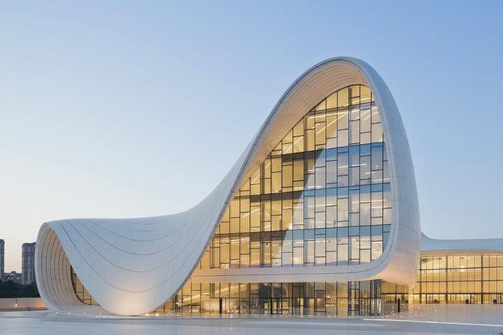İnşa edilmiş, her biri birer tasarım harikası olan 16 bina
