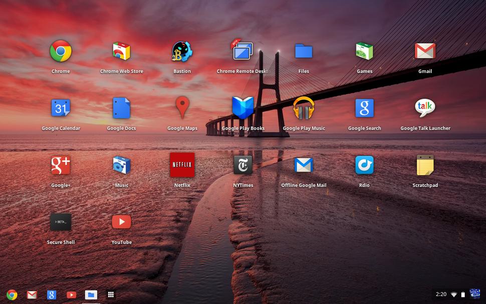 Tutmayan işletim sistemi: Chrome OST
