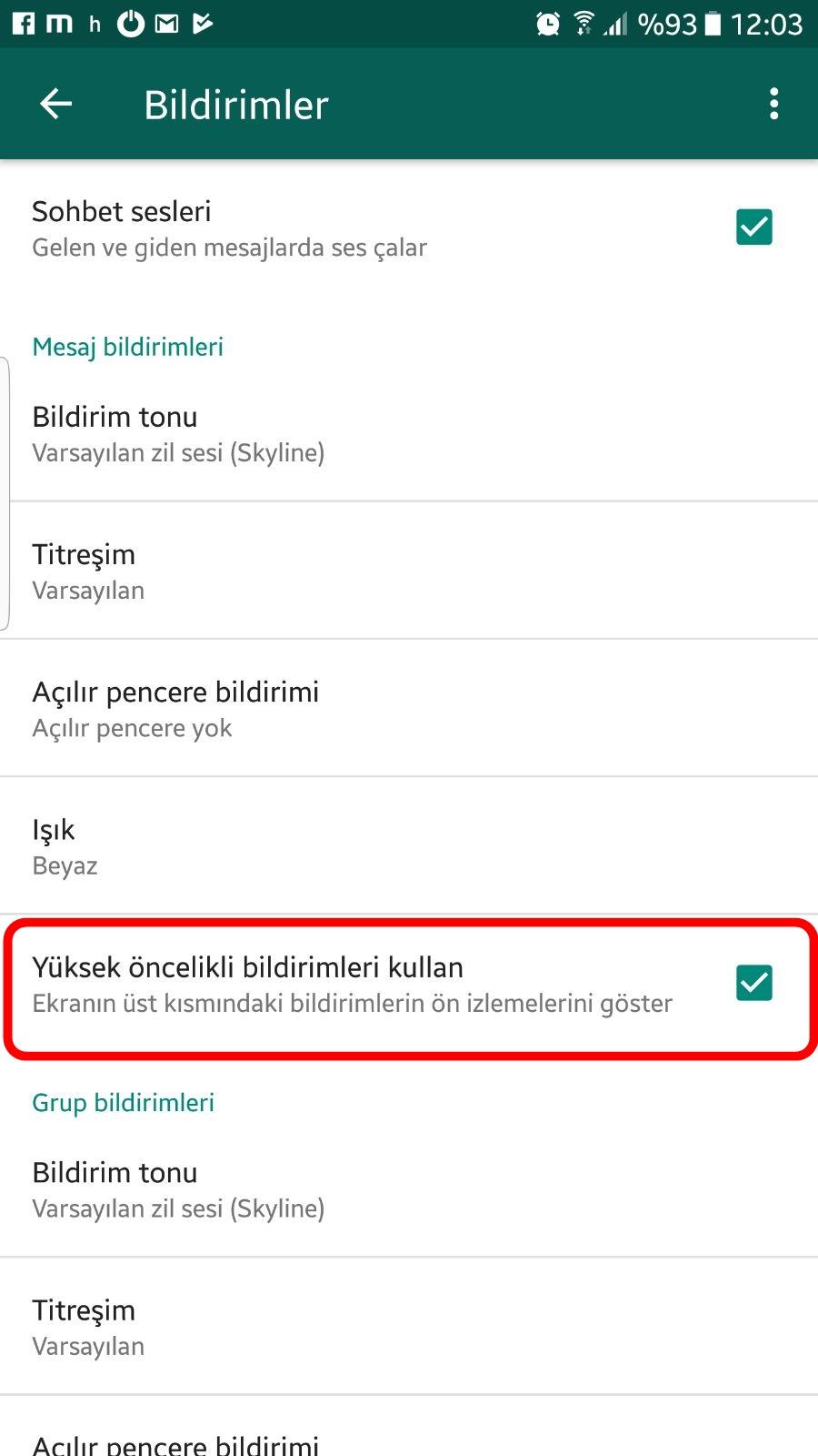 iOS 11'deki Whatsapp bildirim sorunu ve çözümü