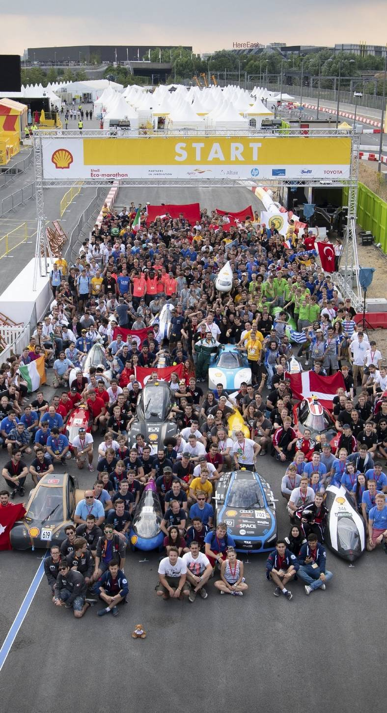Asın Bayrakları: Uludağ Üniversitesi, Shell-Eco Marathon'da Birinci Olan İlk Türk Takımı Oldu