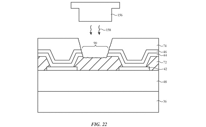 apple patenti çentiksiz ekran