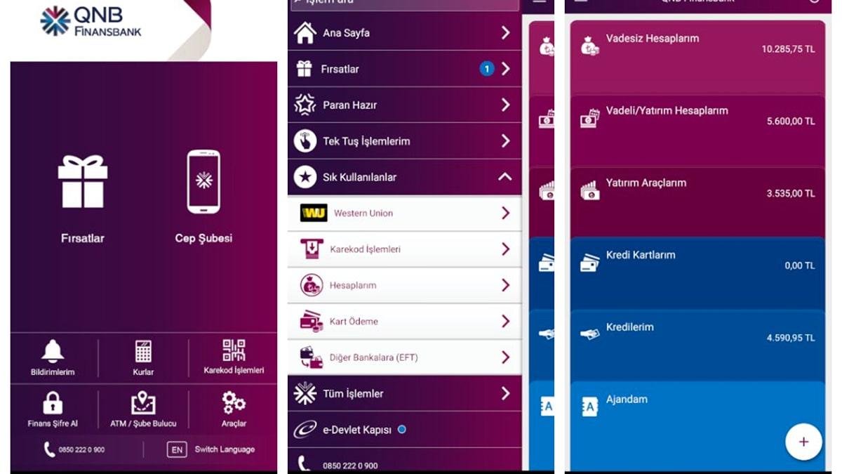 finansbank mobil