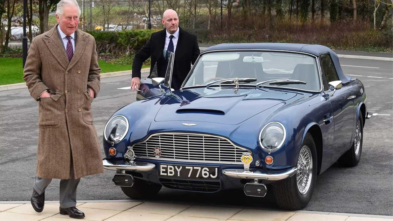 Prens Charles Aston Martin