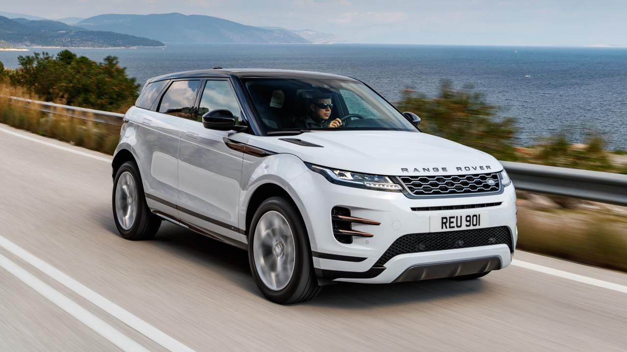 Range Rover Evoque sürüş