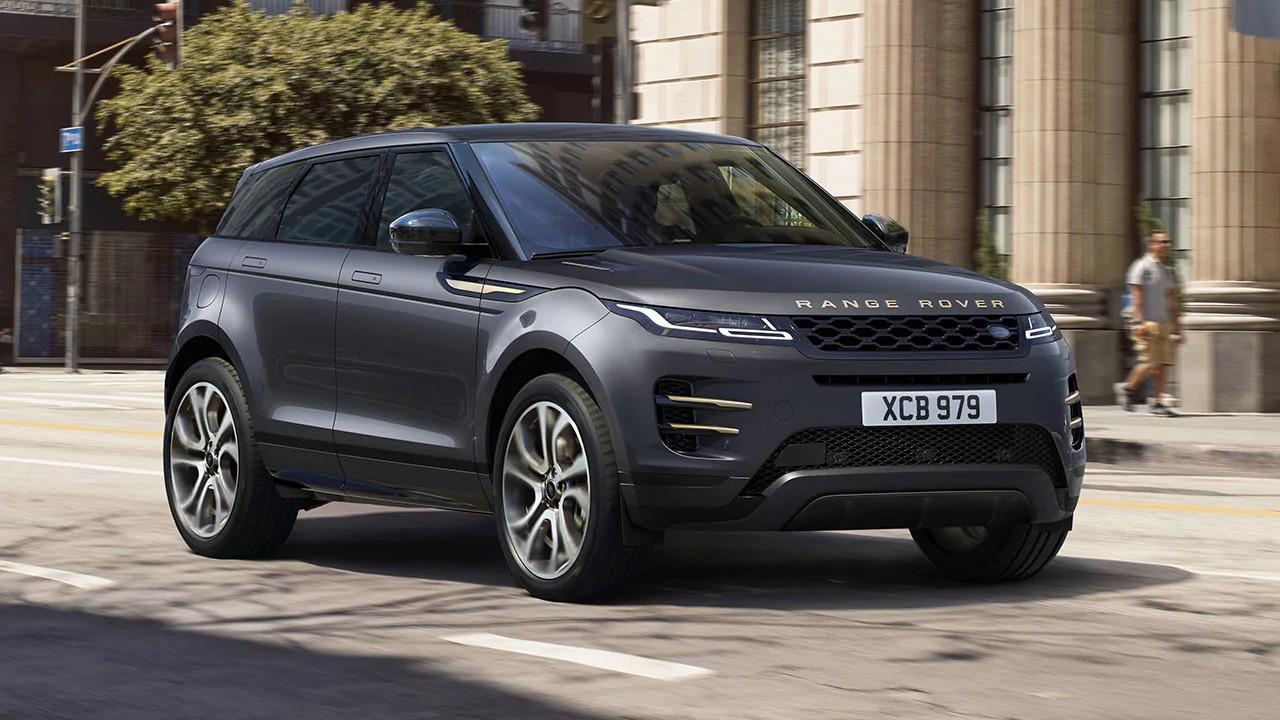 Range Rover Evoque gri