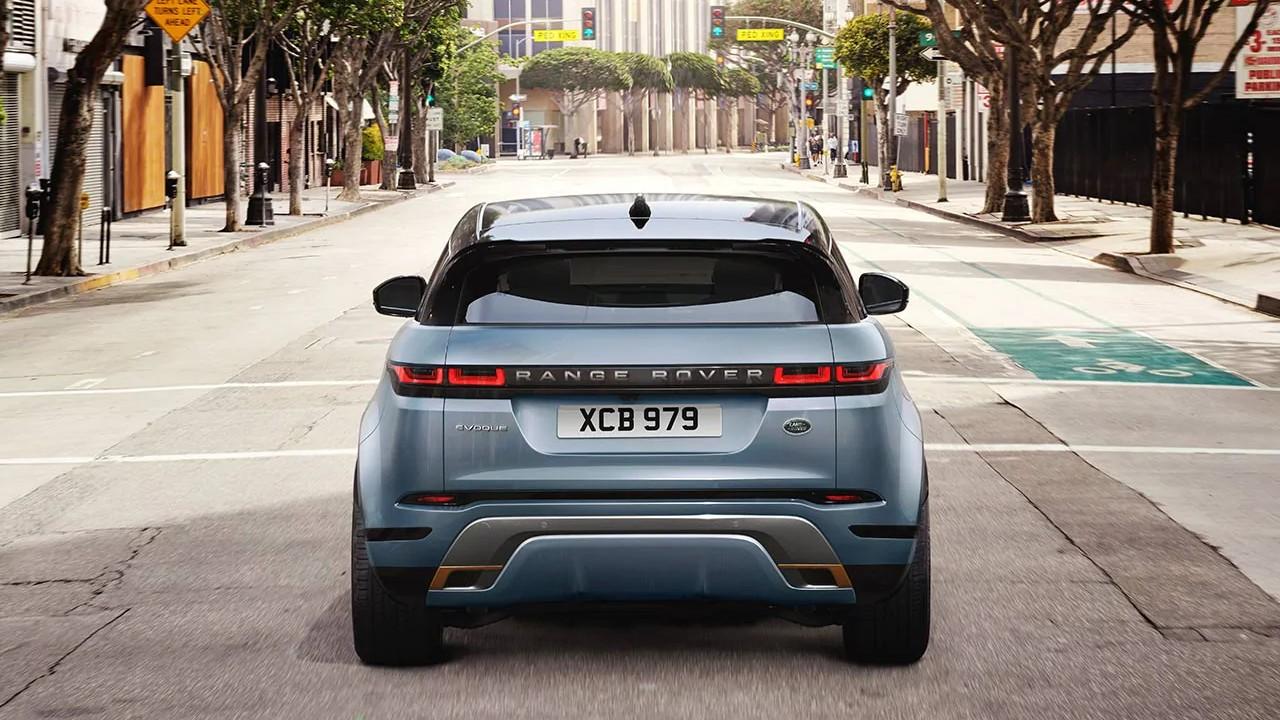 Range Rover Evoque arka görünüm