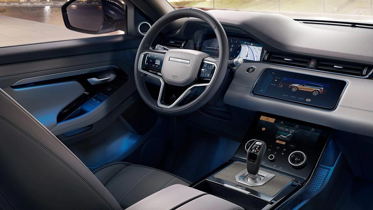 Range Rover Evoque iç mekan