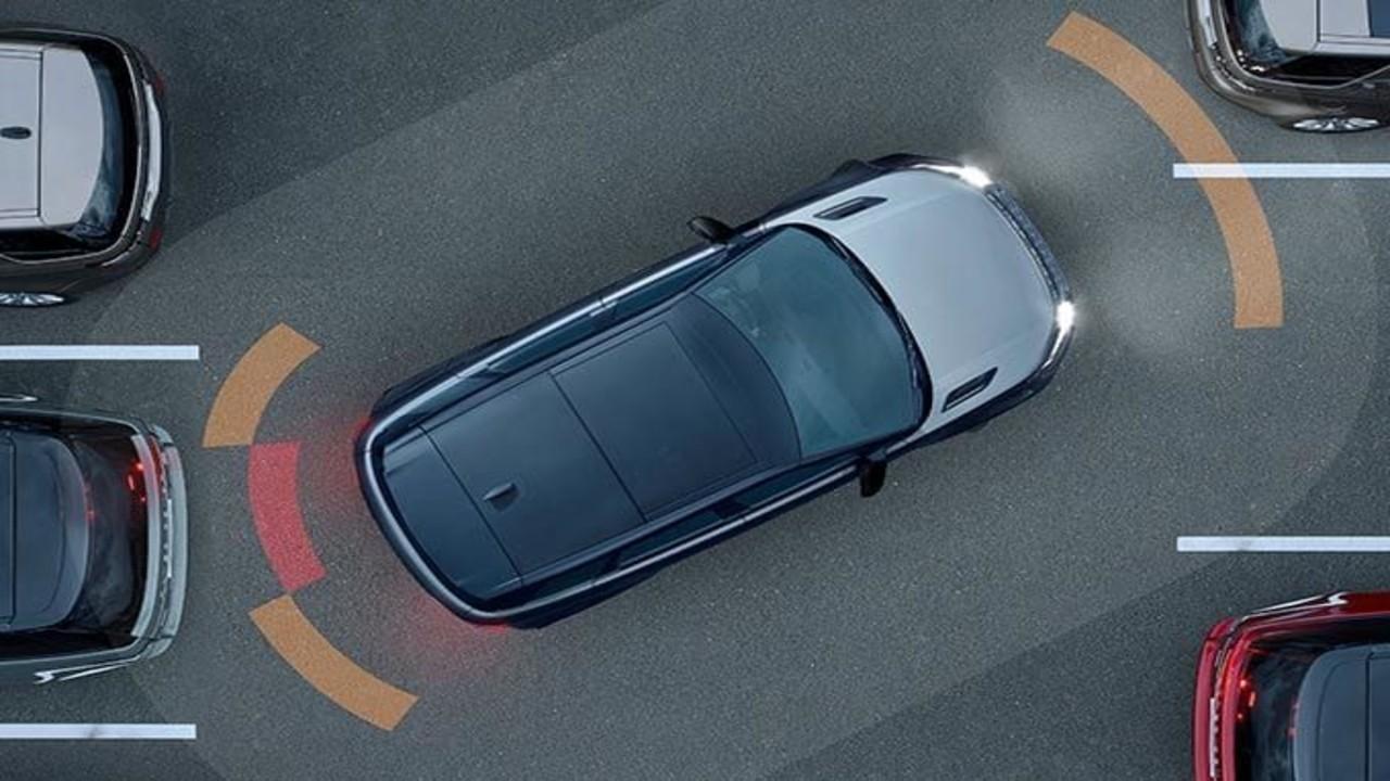Range Rover Evoque güvenlik önlemleri