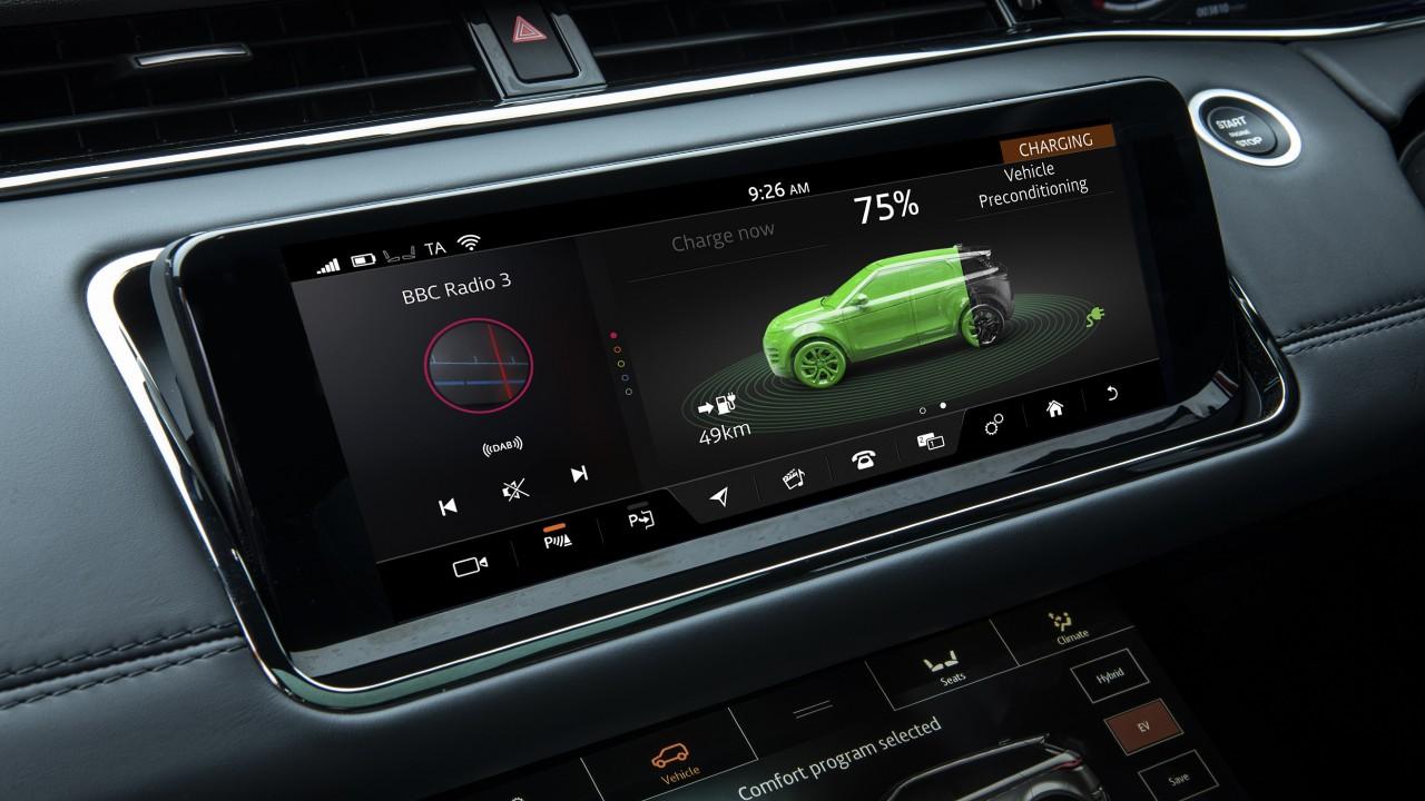 Range Rover Evoque Touch Pro Duo ekran