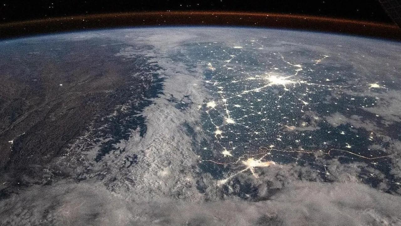 Uzaydan Himalaya Dağları