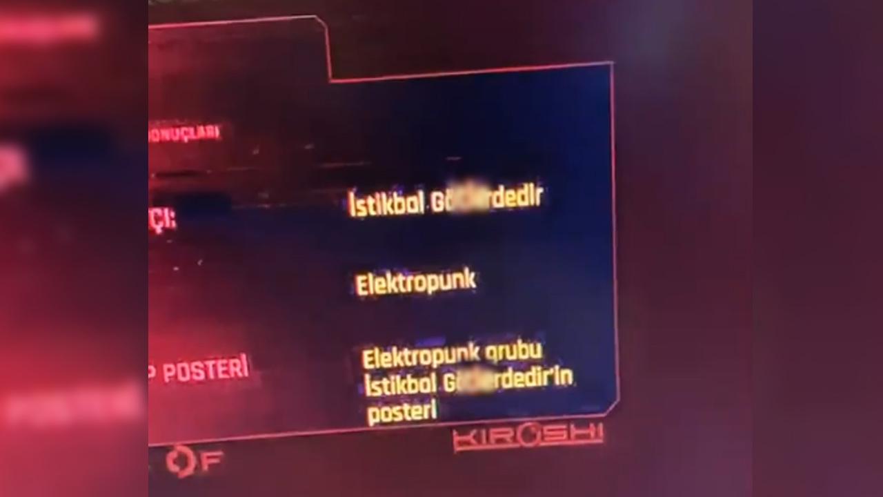 Cyberpunk 2077 Atatürk hatası