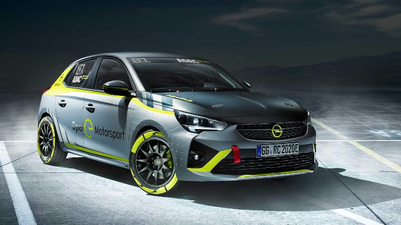Opel Corsa-e rally ralli otomobili