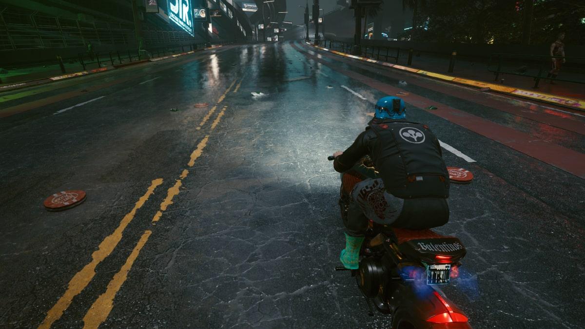 cyberpunk 2077 motosiklet