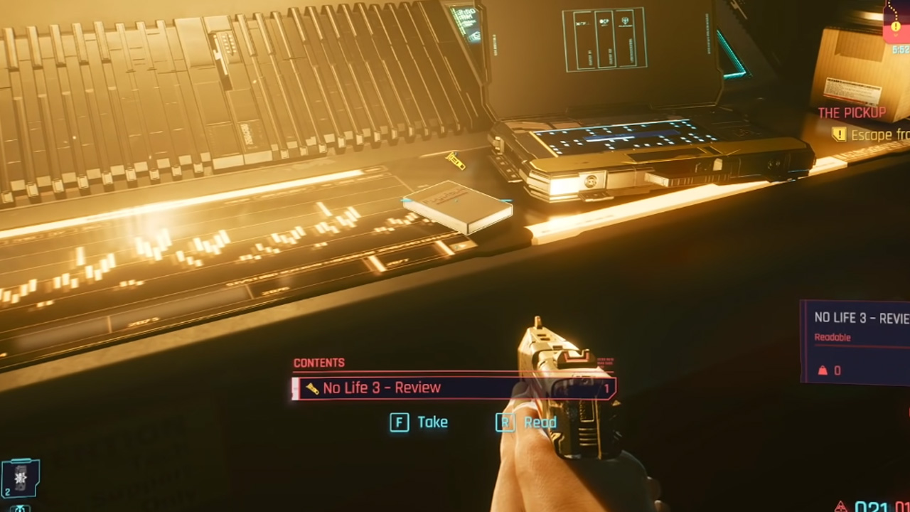 cyberpunk 2077 half-life 3 easter egg
