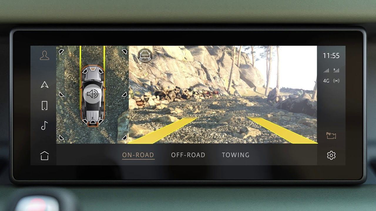 land rover defender clearsight ground view