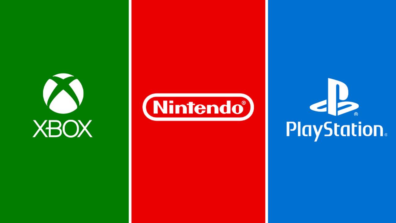 Microsoft, Nintendo, Sony