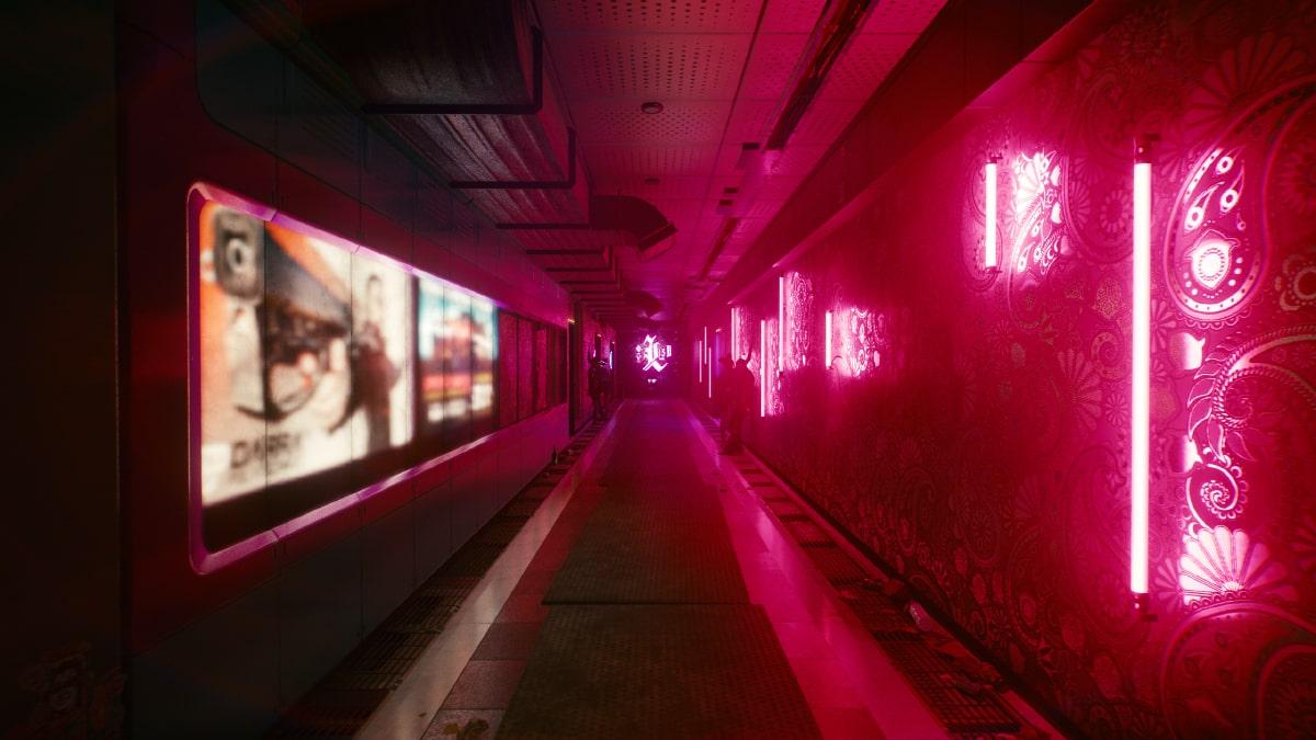 cyberpunk 2077 gece kulübü