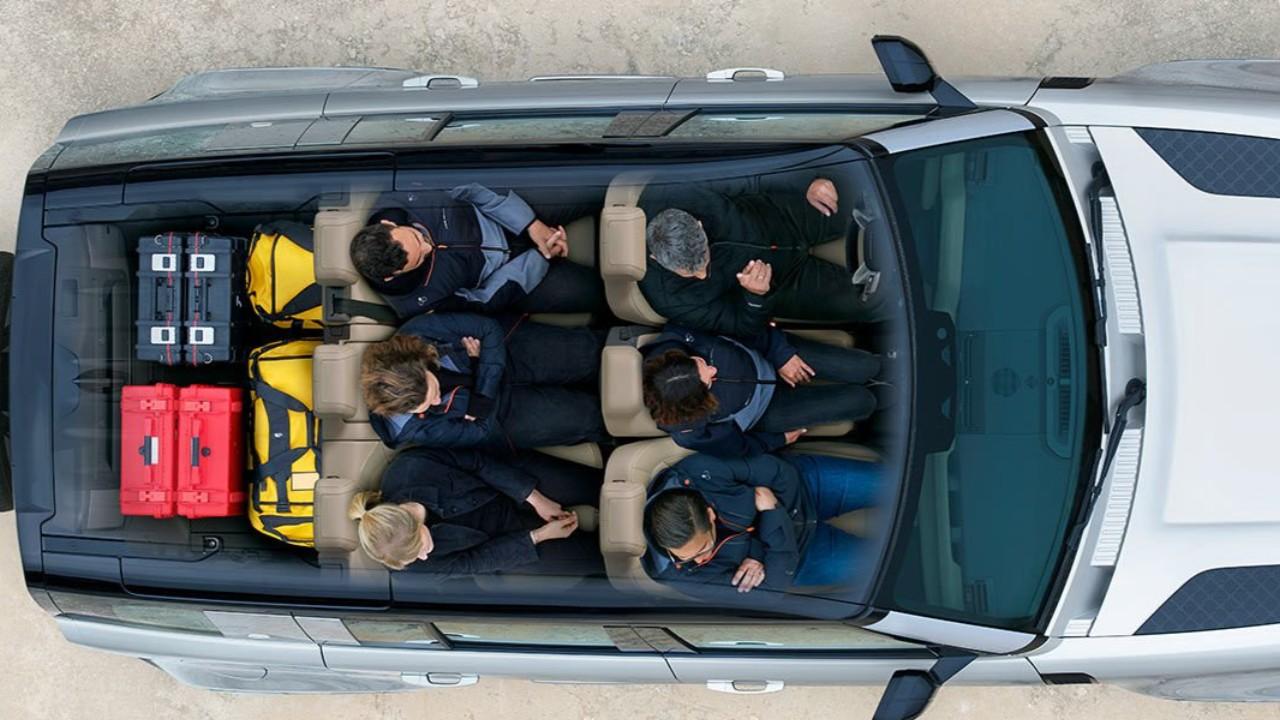 land rover defender dahil kabin
