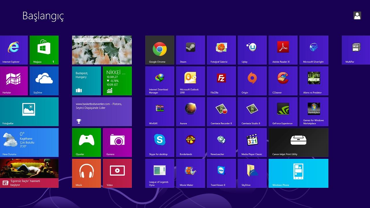 windows programlar