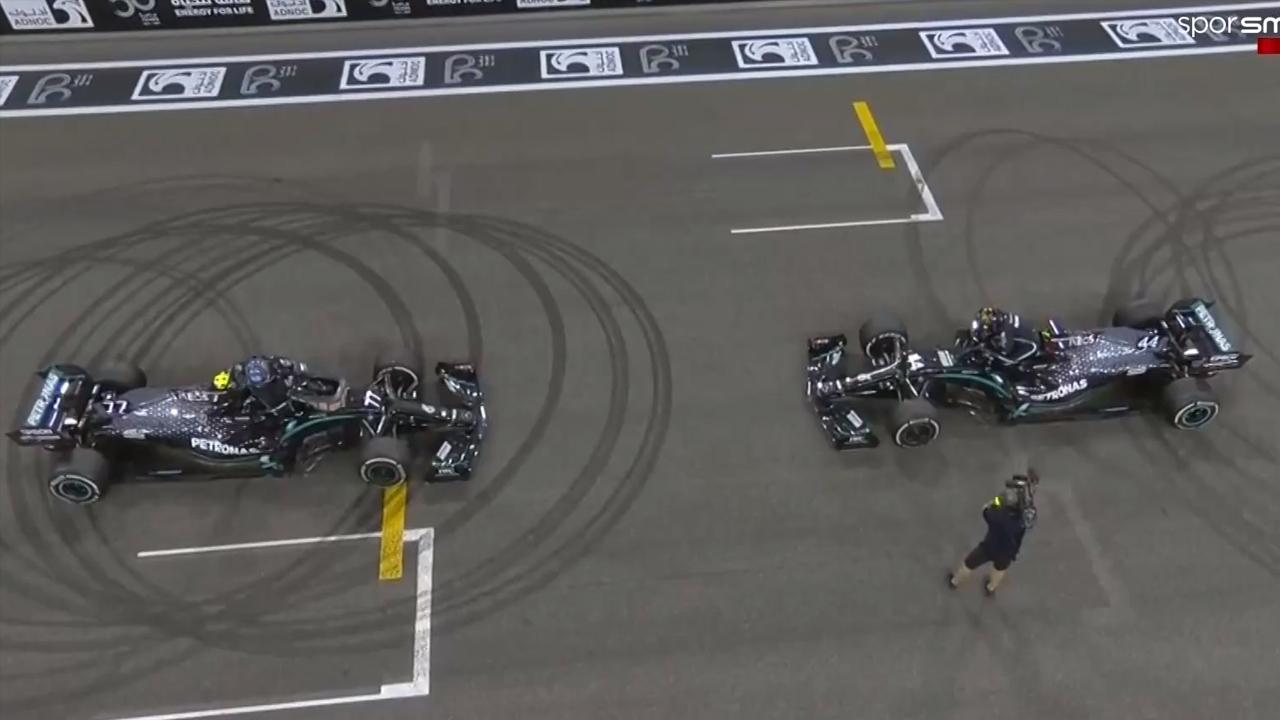 Hamilton ve Bottas