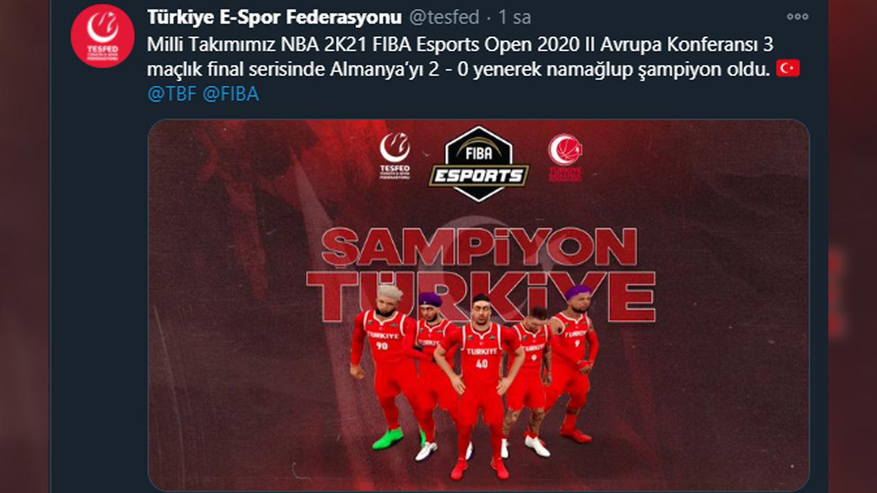 Türkiye E-Spor ferasyonu