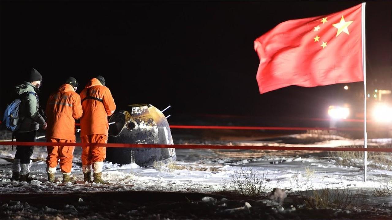 Çin insansız uzay aracı Chang'e