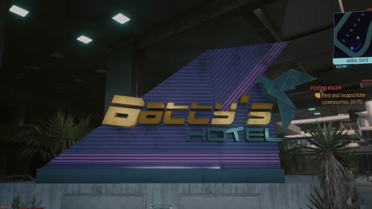 cyberpunk 2077 blade runner easter egg