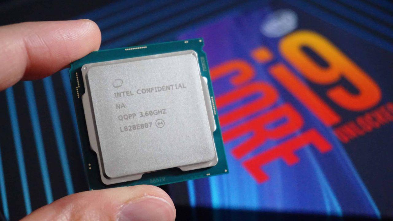 intel core i9 cpu, intel core i9 işlemci