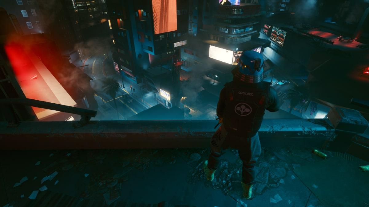 cyberpunk 2077 sokak