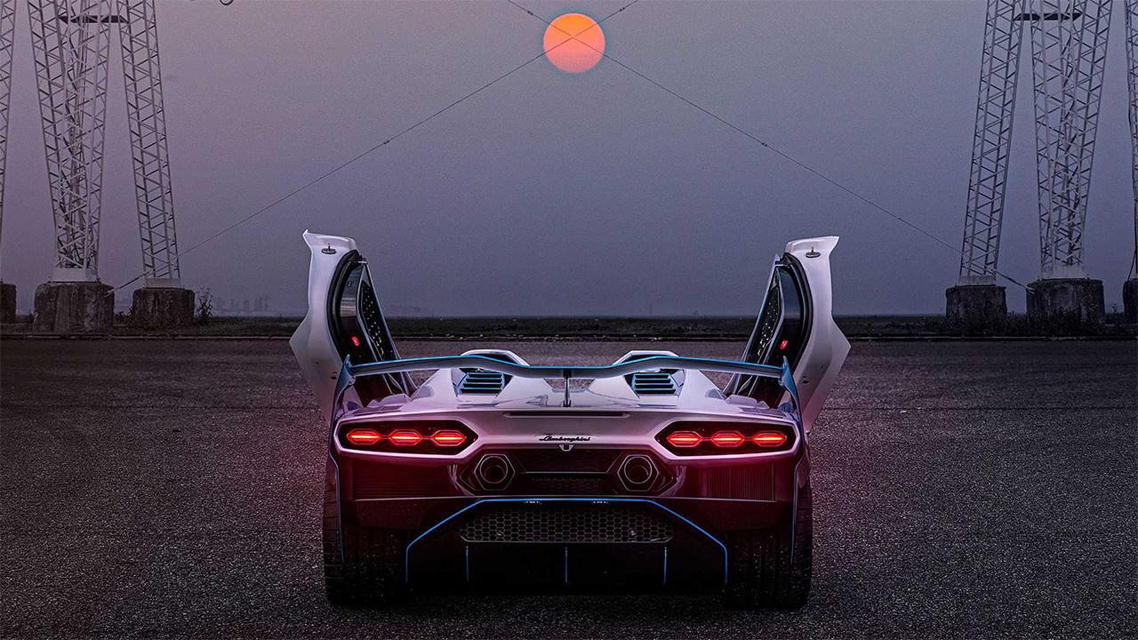 Lamborghini Aventador SC20 arka