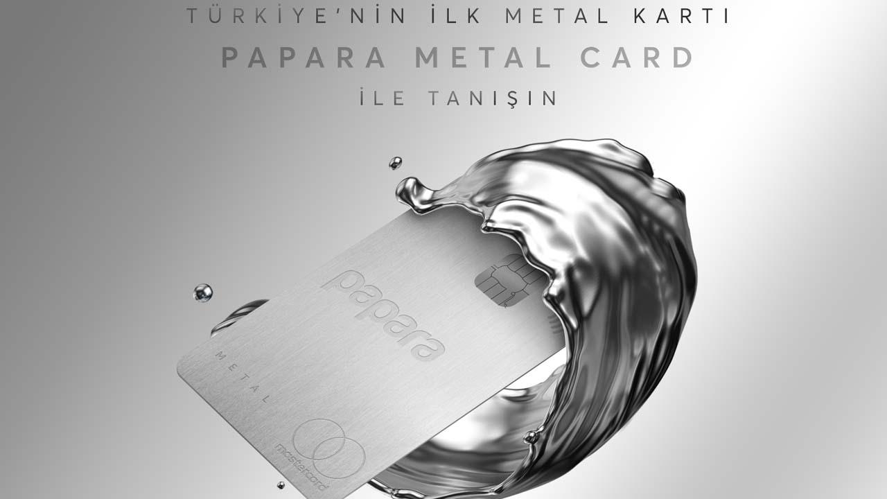Papara metal kart