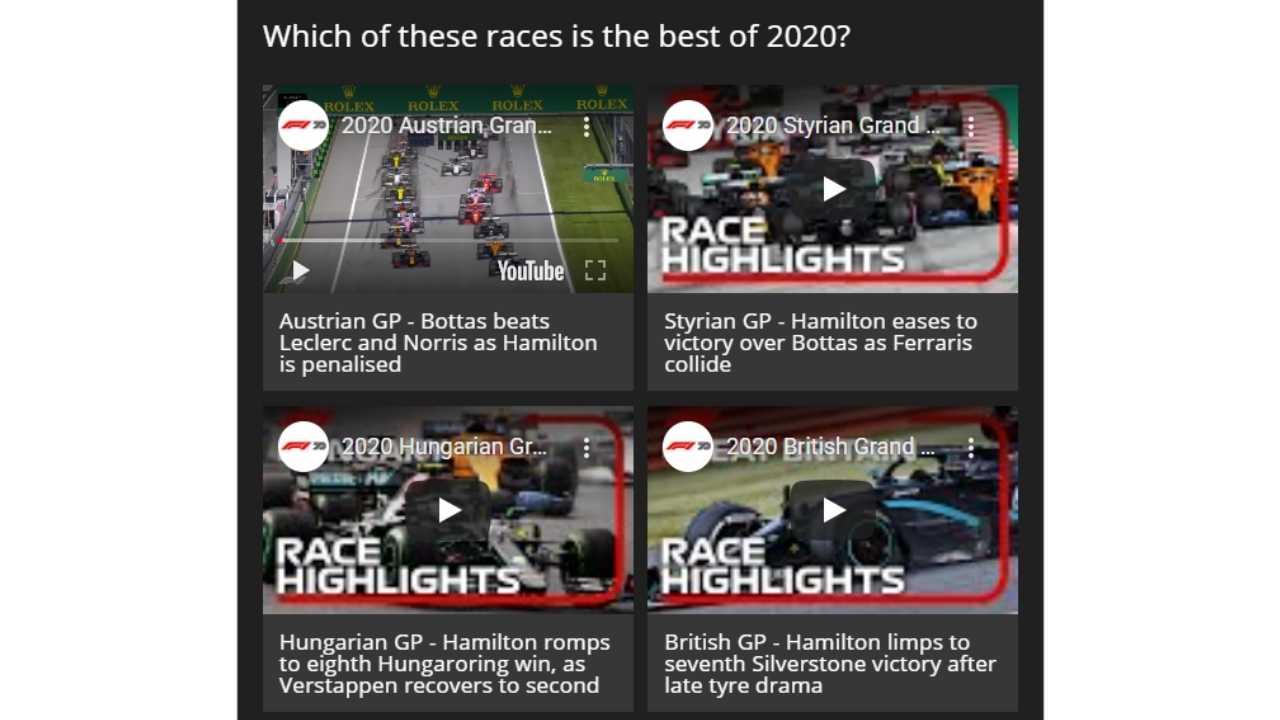 formula 1 2020 en iyi yarış