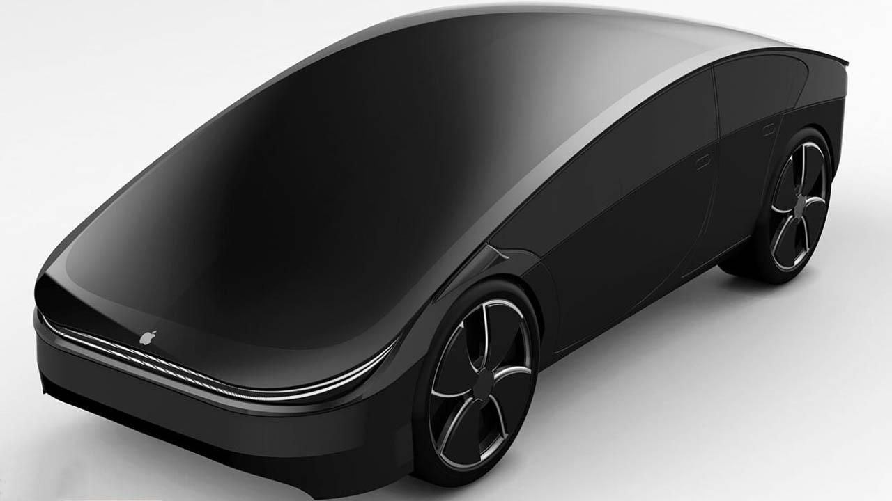 Apple'ın otomobili için oluşturulan konsept