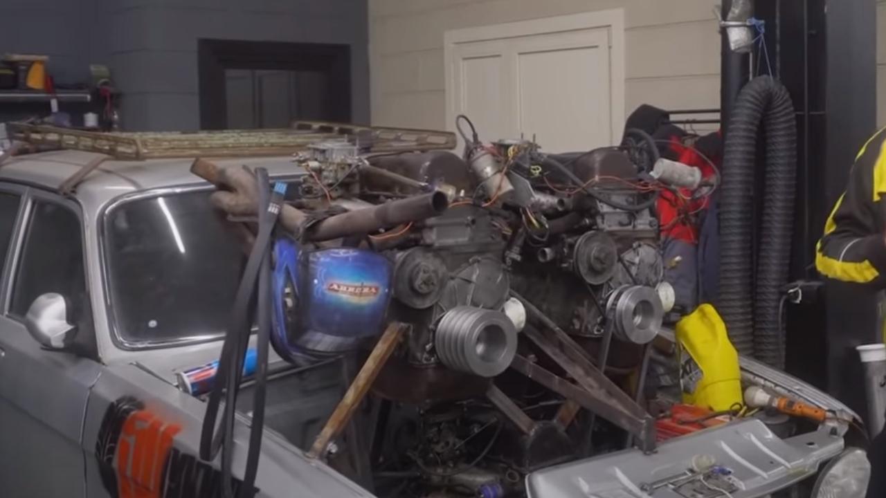 12 silindirli motor