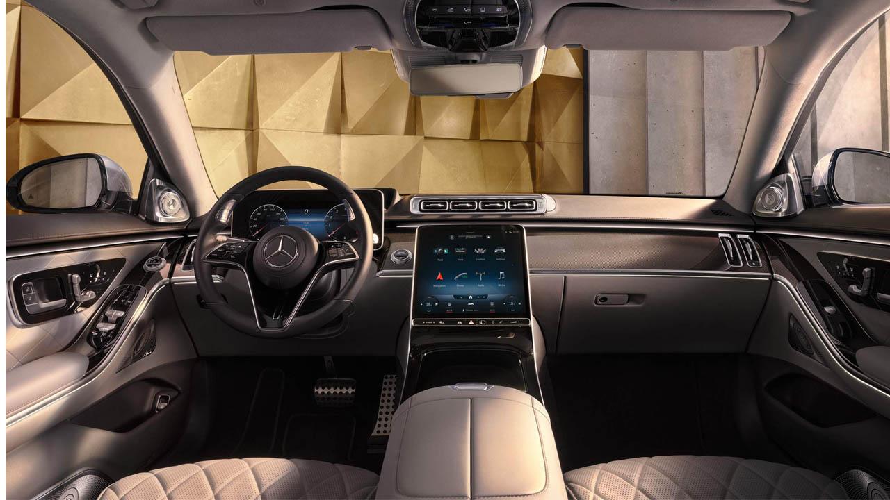 Mercedes Benz S 400 d 4MATIC L dahil kabin