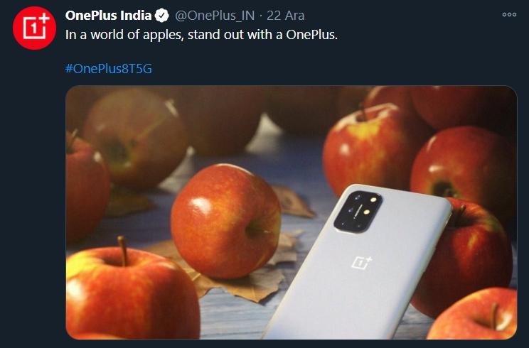 OnePlus tweet