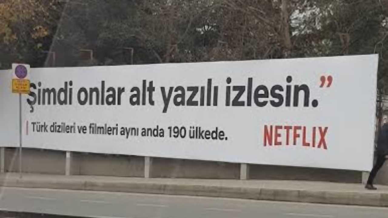netflix afiş