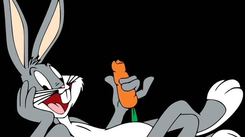Hairy guy on bugs bunny