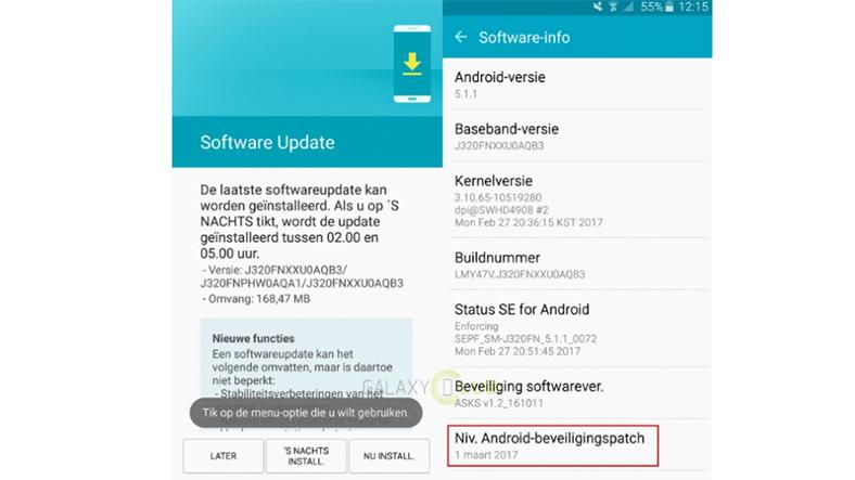Samsung Yazılım Güncellemesi