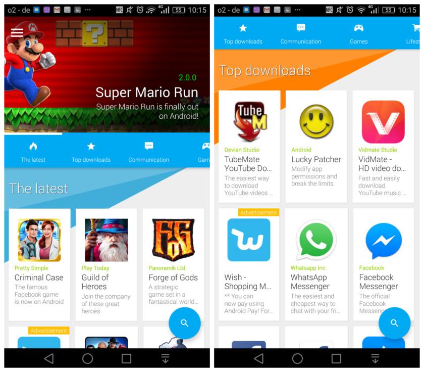 Google Play Store'dan Sıkılanlara Alternatif: Uptodown