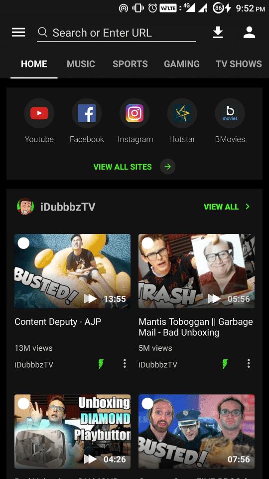 youtube video indirme uygulaması