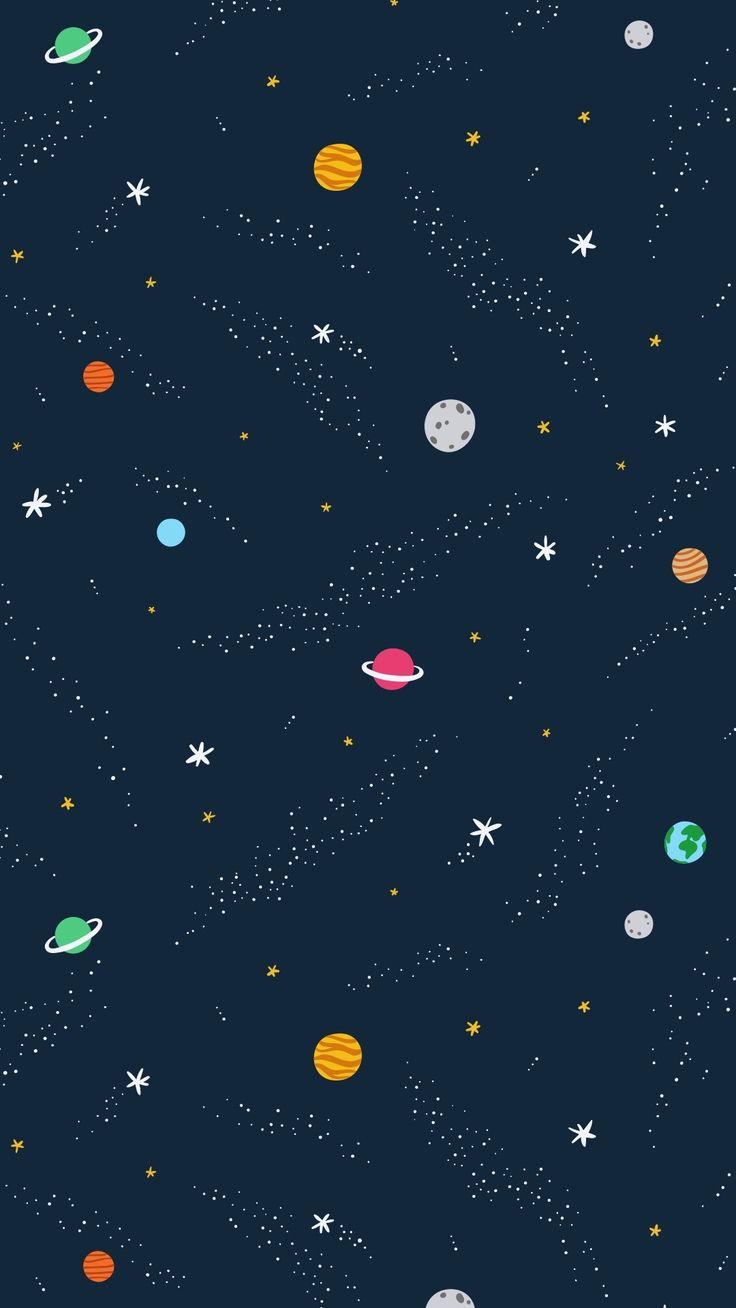 Telefonlara Uzay Temalı Birbirinden Güzel Duvar Kağıtları