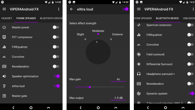 android telefon ses yükseltme programı