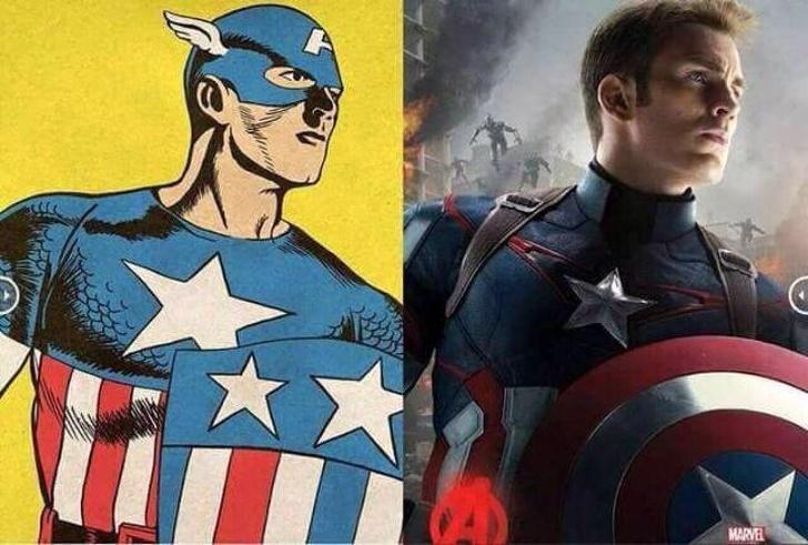 Captain america's ass