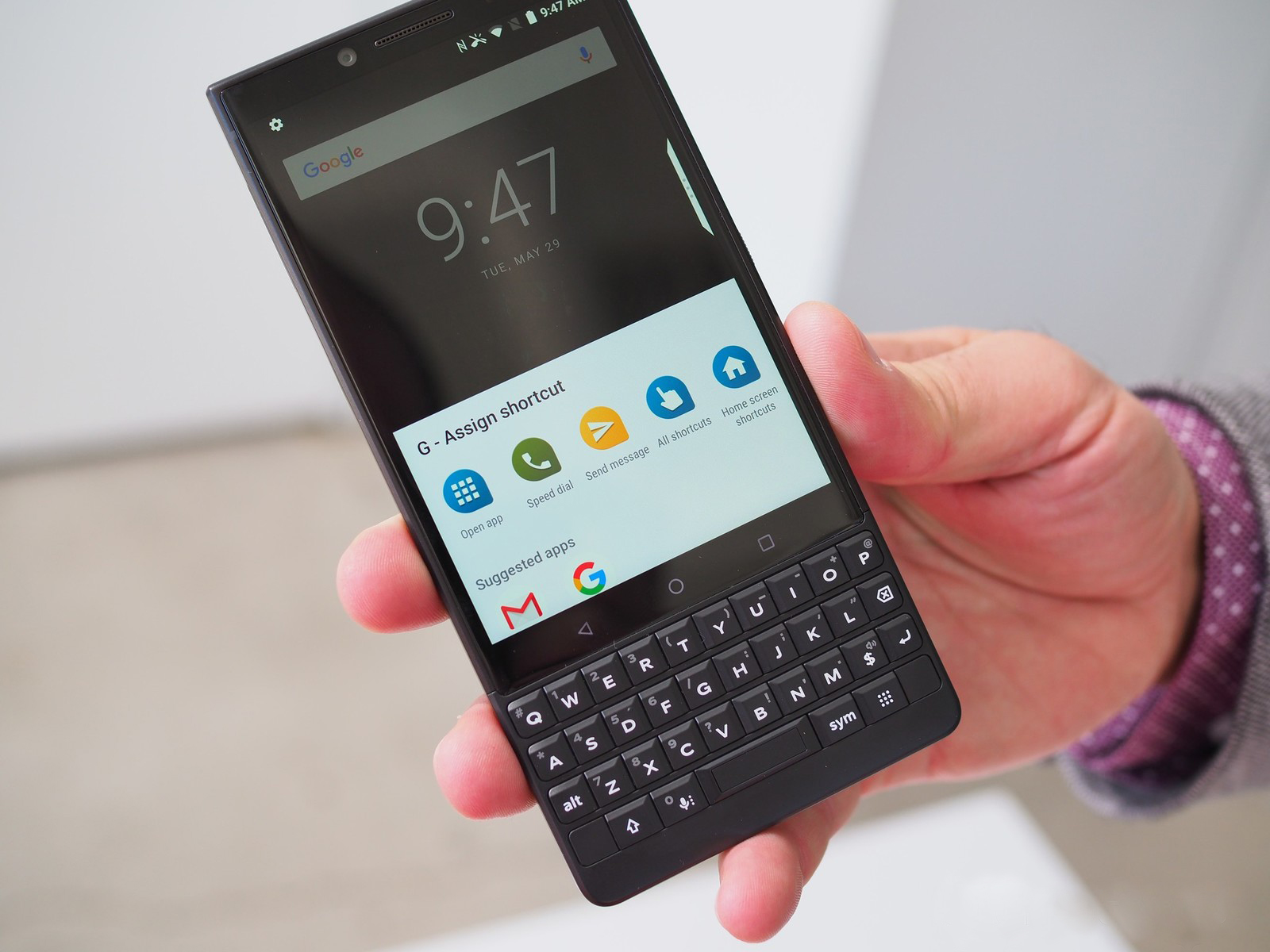 First Look at BlackBerry KEY2's Little Brother KEY2 LE