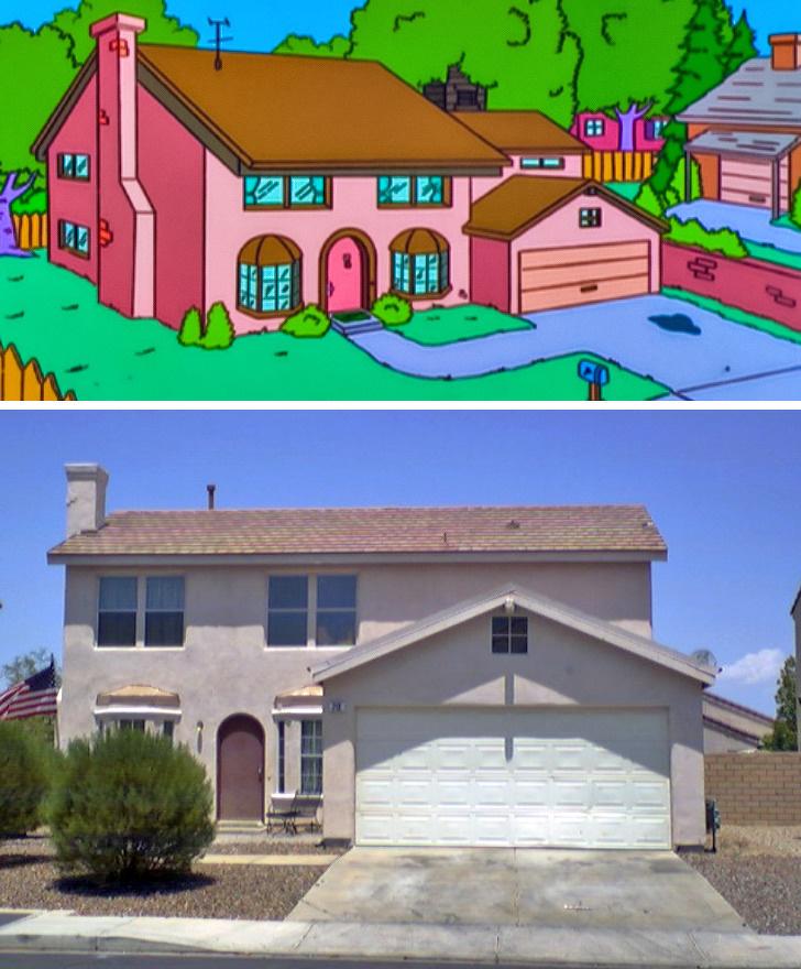 Gerçek Hayatta Inşa Edilmiş 10 çizgi Film Evi